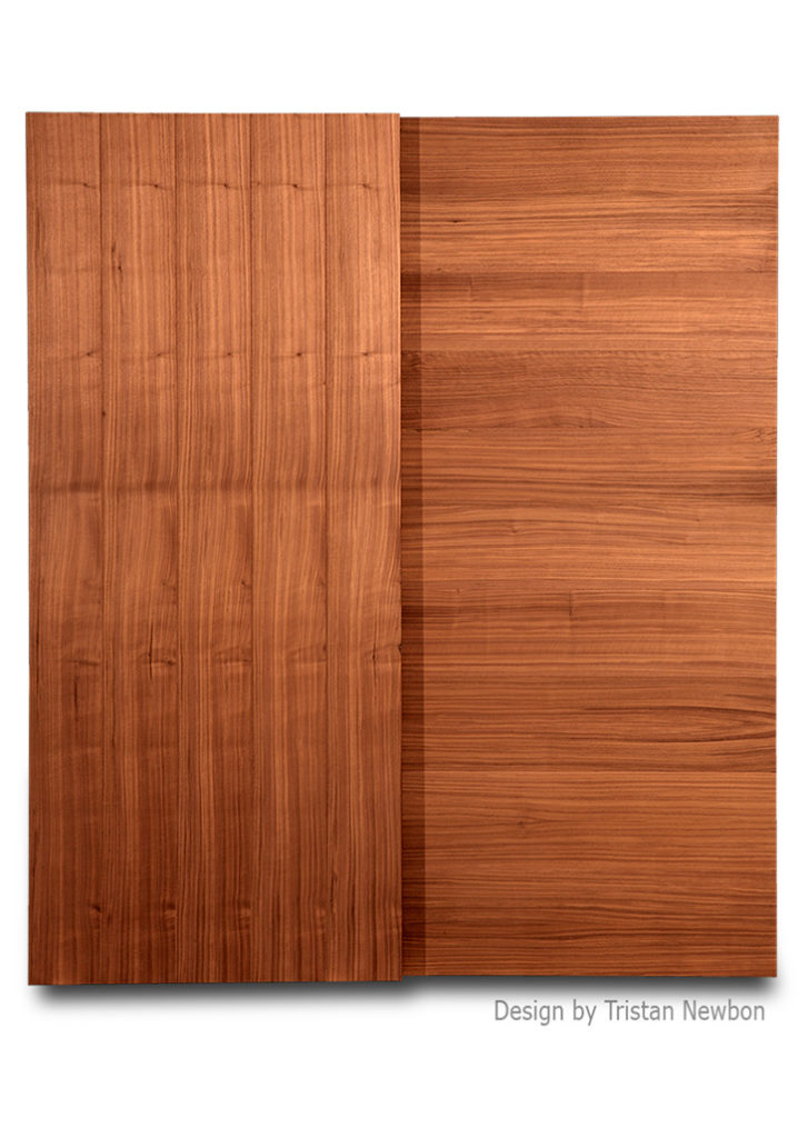 BiPass Walnut Doors