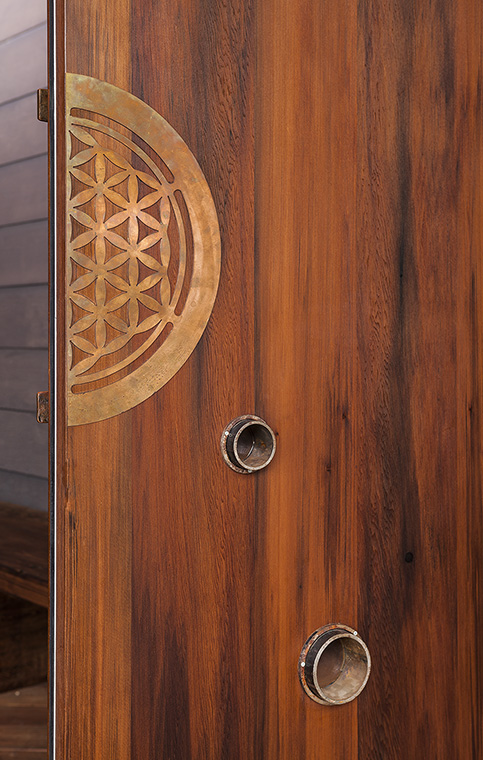 Esalen Door Close-Up