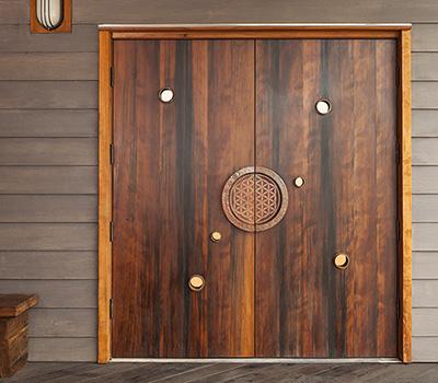 Esalen Store Doors