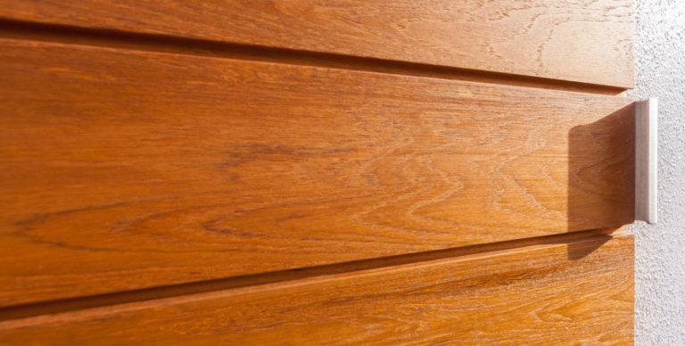 Teak Door - Detail
